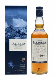 illustration - Whisky Talisker 10y 45,8°