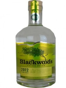 illustration - Gin Blackwoods 40°