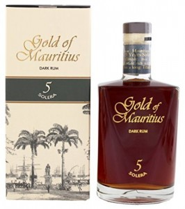 illustration - Rhum Gold of Mauritius '5 Solera' 5y 40°