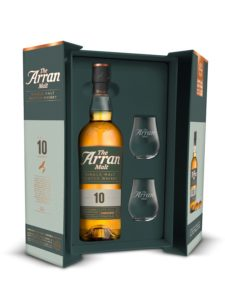 illustration - Whisky Arran 10y 46° + 2 glasses box
