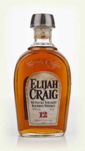 illustration - Whisky Bourbon Elijah Craig 12y 47°