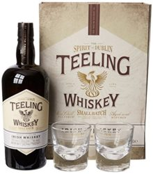 illustration - Whisky Teelling 'Small Batch Rum Casks' 46° + 2 glasses box